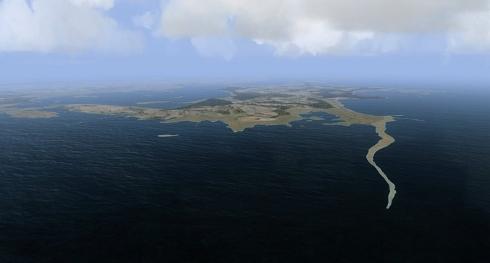 Sääretirp ja Kassari saar Väinameres